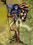 Wonder America Colored by Sean-Loco-ODonnell
