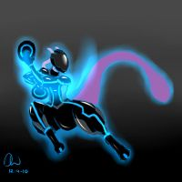 Mewtwo Tron 2 Edition by DYW14