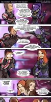 Tali'Zorah: Beneath the Helmet by savagesparrow