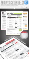 Pro Invoice Template Series 01 by ShermanJackson