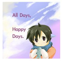 all days happy days by peperobox