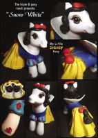 MLP Custom Snow White by saeriellyn