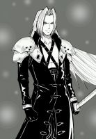 Sephiroth II by TheFresco