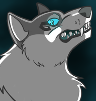 *OLD* Wolf design by Chicorie