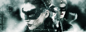 CATWOMAN-ANNE HATHAWAY COVER by CansuAkn