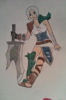 Riven from League of Legends by MsAyunie