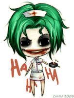 Chibi Nurse Joker by Chama