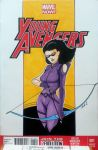 Young Avengers 001 MHC variant by artildawn