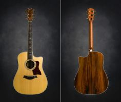 Taylor Acoustic Guitar by greyghostXXX