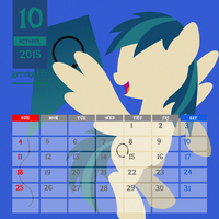 OC Calendar 2015 : October - AftermathMakesMusic by LimeDreaming