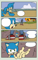 Sonic Base 30~Comic Page 2~ by Xbox-DS-Gameboy