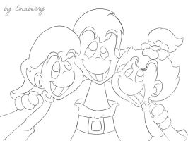 Animaniacs Human Sketch by Emaberry