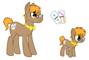 Domino Stack (Nerdy Colt For Celestial Studios) by DropDeadThenDance