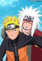 Naruto y Jiraiya by Light-kun0