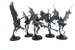 Dark Eldar Scourges 2 by Ninestar