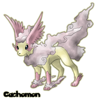 Eeveelution: Wingeon by Cachomon