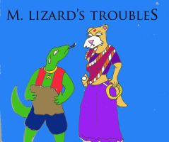 M. Lizard's trouble in IND by Woaddragon