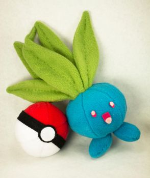 I choose you Oddish! by BeeZee-Art