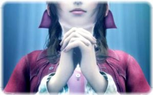 Aerith Prayer by KatalunaEternity
