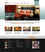 Guesthouse Wordpress Theme - TurquoiseOrange Skin by ait-themes