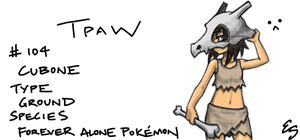 Cubone by eys123
