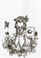 Koishi Minus Face by atoms2ashes