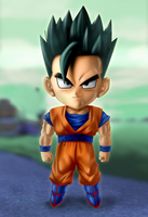 Ultimate Gohan by xenocracy