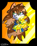 Viru The Dog .:(Art Trade):. V.2 by flame-finn-marce