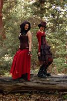 Forest Gals 3 by Storms-Stock