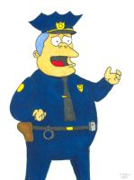 Chief Wiggum by 12jack12