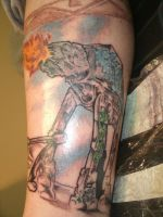 at-at with graffiti-first sess by ShannonRitchie
