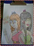 Tenshi and Veros wishes by flowerpower138