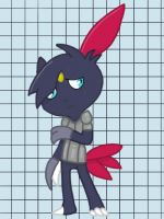 Request - Dalias the Sneasel by Moss-Stone