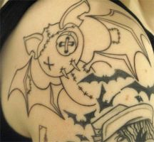 Trigs - Batty tattoo by xx-trigrhappy-xx