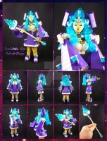 Bionicle MOC: Maristela The Astral-Mage. by Mana-Ramp-Matoran