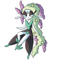 Pokemon Fusion Donation Prize: Shidyk by MTC-Studios