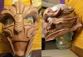 Female Turian Mask by hjessup3