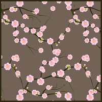 First spring blossoms pattern by PajkaBajka