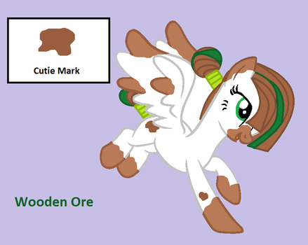 MLP OC - Wooden Ore by turian-kabale