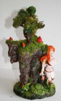 tree troll by richardsymonsart