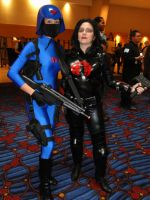 The Baroness and COBRA minion by DarkLabrynth