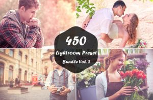 450 Lightroom Presets Bundle Vol.2 on Sale by symufa