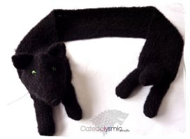 Game of Thrones Shaggydog the Direwolf Scarf by Cateaclysmic