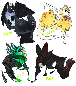 [ych] one-offs i never posted by cathedraIs