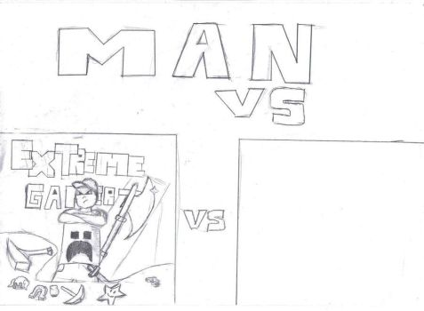 MAN VS. by Leekface72