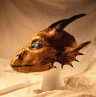 Dragon Mask Copper by Qarrezel