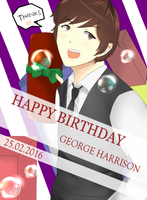 HBD George by annisa0403