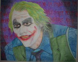 Heath Ledger Joker by ZippingMeteor