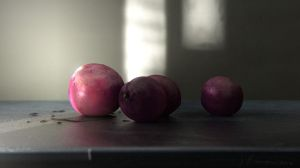 Procedural Plums in Sunlight by jeremyengleman
