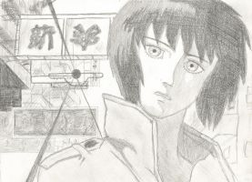 Ghost In The Shell by blackholeripper10